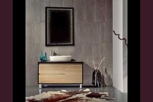 Светещо огледало за стена с безкраен ефект и LED 6400К 80х60см 220V 12W