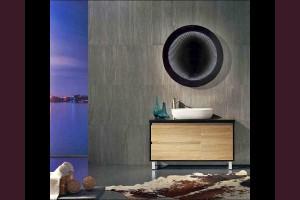 Светещо огледало за стена с безкраен ефект и LED 6400К Ф60см 220V 10W
