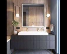 Светещо огледало за стена с LED 6400К 60х60см 220V 20W димируемо