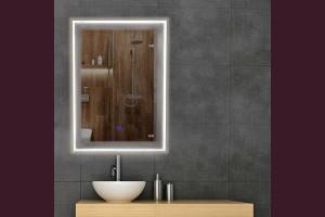 Светещо огледало за стена с LED 3/4/6000К 70х50см 220V 31W димируемо