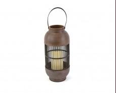 Декоративен фенер NOUGAT с LED свещ на батерии 33см