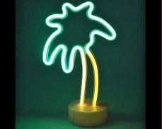 Светеща фигура ПАЛМА LED неон 26 см