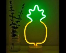 Светеща фигура АНАНАС LED неон 28 см