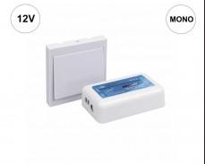 Комплект LED MONO RF приемник и стенен бутон за осветление