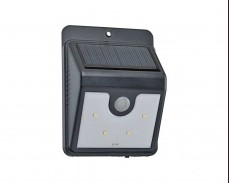 Соларен LED аплик с датчик за движение 0.4W IP55