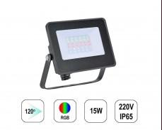 RGB LED прожектор LYRA15 15W IP65 220V