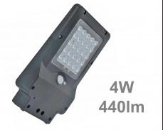 LED улична соларна лампа със сензор 4W 440lm IP65