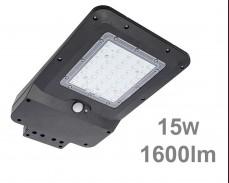 LED улична соларна лампа със сензор 15W 1600lm IP65
