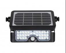 Соларен LED прожектор FOLD със сензор за движение и USB 500lm 5W IP65