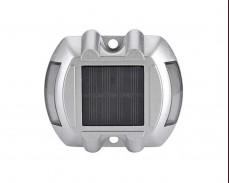 Бронирана соларна LED лампа за алеи 0,24W алуминии