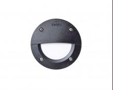 LED външно осветително тяло за монтаж в стена LETI 100С2 3W IP66 черен