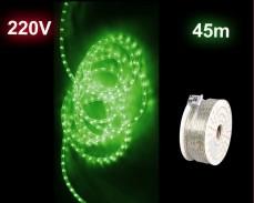 LED светещ маркуч ЗЕЛЕН макара 45м PRO