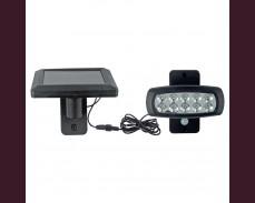 LED аплик със сензор и отделно соларно захранване, 2W 150lm