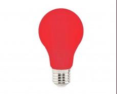 ЧЕРВЕНА LED крушка 3W Е27 A60 220V