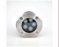 LED водоустойчиво осветително тяло за вграждане 5W 4000K IP65 ХРОМ