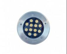 LED водоустойчиво осветително тяло за вграждане 12W 4000K IP65 ХРОМ