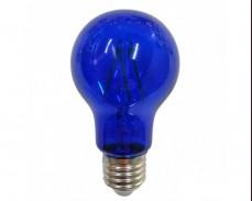 СИНЯ LED filament крушка Е27 A60 4W 220V