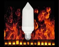 LED  крушка огнени пламъци 5W E27 1800К