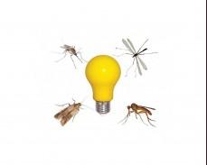 ЖЪЛТА LED крушка срещу комари Е27 A60 6W 220V
