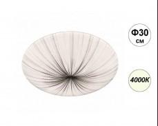 LED плафониера FIONA 4000К 24W 30см