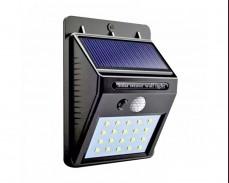 Соларен LED аплик с датчик за движение 3W IP55
