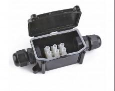 Водоустойчива кутия с лустер клема 16А 250V IP68