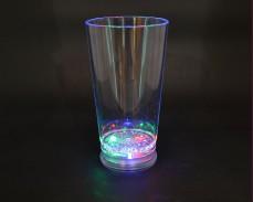 Светеща коктейлна чаша MOHITO с LED лампички 400мл.