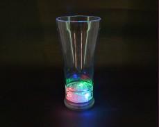 Светеща коктейлна чаша с LED лампички 400мл.