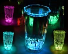 Светеща чаша SHOT с LED лампички 60мл.