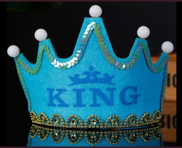 Корона KING с LED лампички