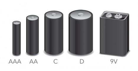 Различните видове батерии