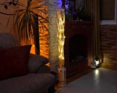 Клонки светещи с ТОПЛО БЕЛИ LED лампички