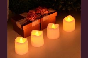 Чаена свещ с LED 5см