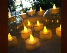 Чаена свещ с LED 2см