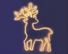 Светеща фигура ЕЛЕН от LED НЕОН ТОПЛО БЯЛ  56х90 см.