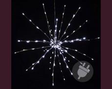 Светещ Метеор 40см, 80 БЕЛИ led лампи с трансформатор