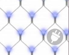Светеща мрежа 120 СИНИ led лампи 1,1 х 0,9м