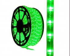 LED светещ маркуч ЗЕЛЕН
