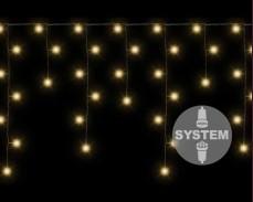 Висящи 80 ТОПЛО БЕЛИ led лампи за система