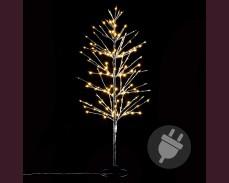 Дърво с 160 ТОПЛО БЕЛИ led 120см