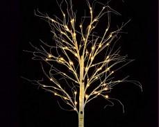 Дърво Бреза с 96 ТОПЛО БЕЛИ led 160см