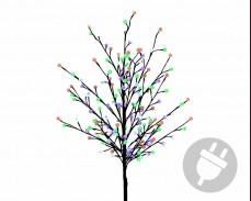 Дърво с 180 МНОГОЦВЕТНИ led лампи 180см