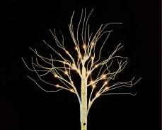 Дърво Бреза с 30 ТОПЛО БЕЛИ led 70см