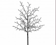 """Дърво """"Светещ цвят"""" 200 БЕЛИ led 150см"""