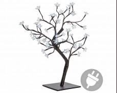 """Дърво """"Светещ цвят"""" 48 БЕЛИ led 45см"""