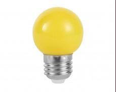 ЖЪЛТА LED крушка 1W Е27 P45 220V