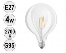 Крушка LED filament E27 4W 2700K G95
