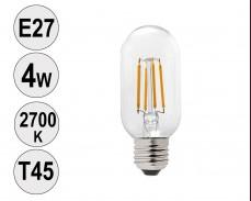 Крушка LED filament E27 4W 2700K T45