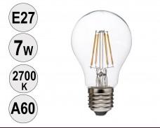 Крушка LED filament E27 7W 2700K A60
