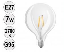 Крушка LED filament E27 7W 2700K G95